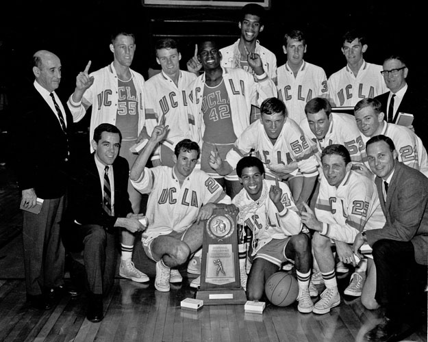 1967 MENS BASKETBALL UCLA Started Four Sophomores And A Junior But Rarely Was Challenged En Route To 30 0 Season Its Third National Championship In