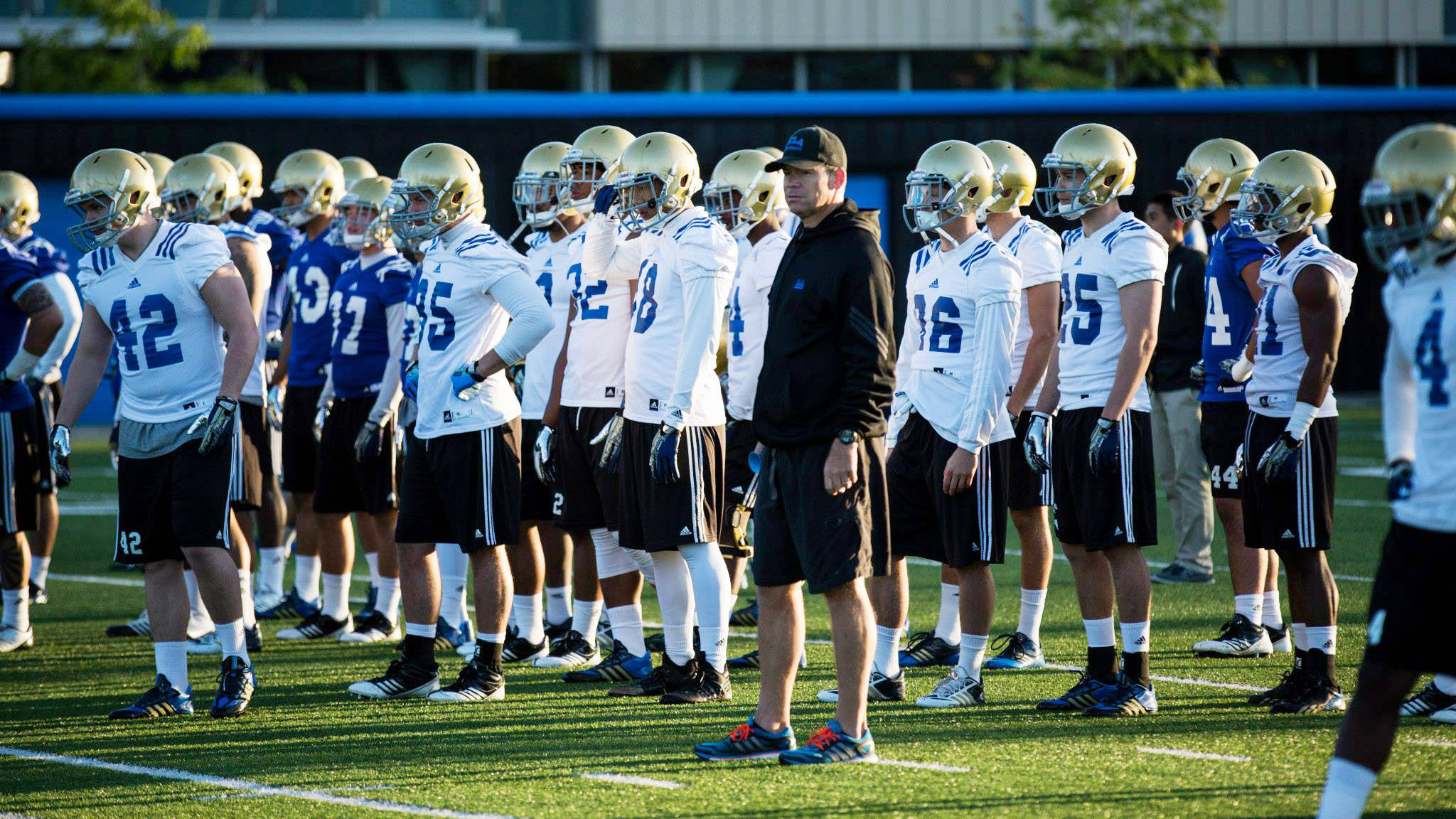 UCLA Football Prepares for Spring Showcase