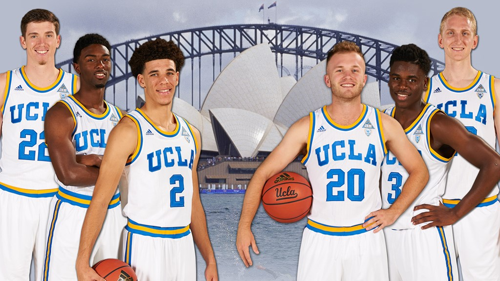 on sale b865d 5d47a Men's Basketball Set for Trip to Australia - UCLA