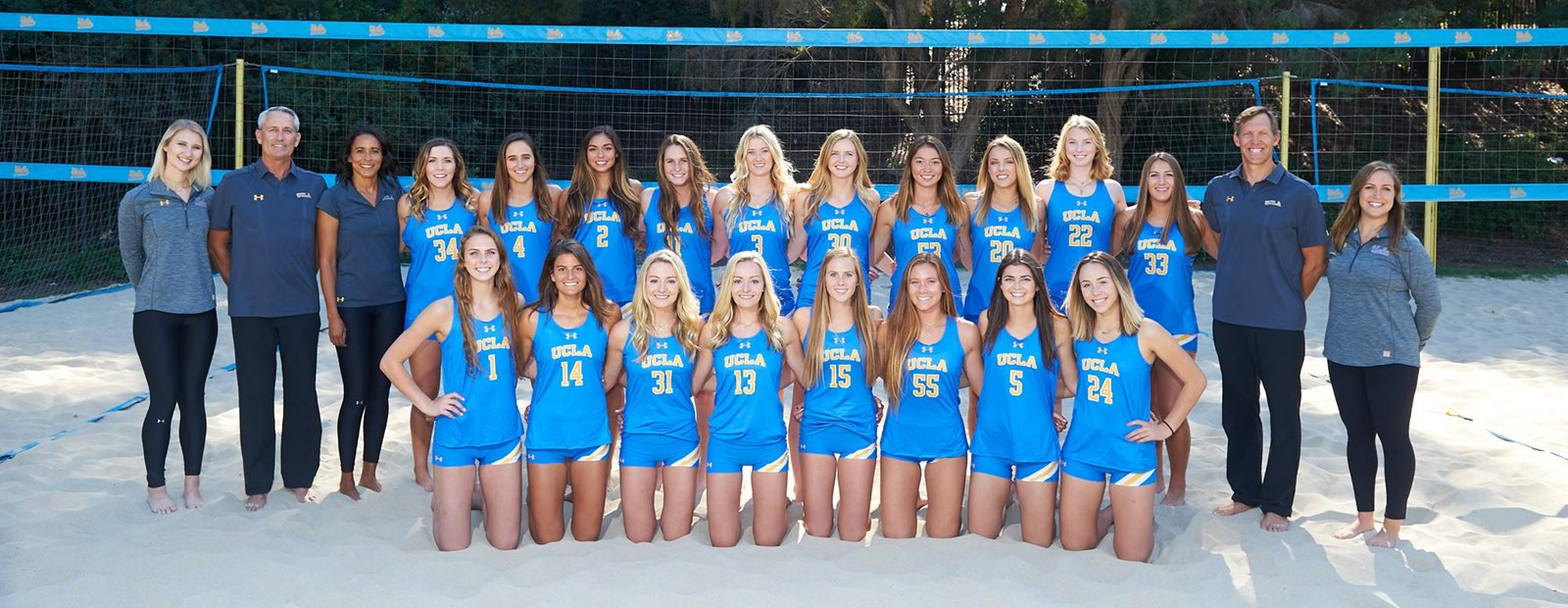 2018 Beach Volleyball Roster Ucla