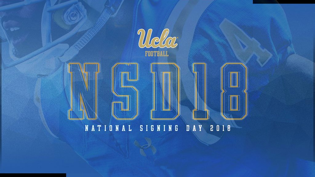 UCLA Signs Eight in Early Signing Period - UCLA 46e23f5d2