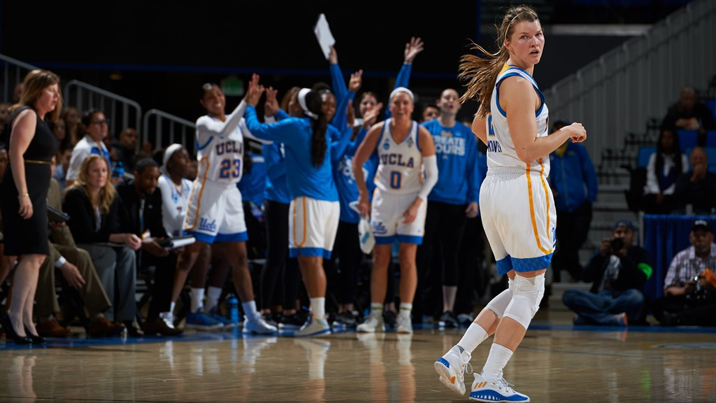 9d48808bbad No. 4 UCLA to Face No. 1 UConn in Sweet Sixteen - UCLA