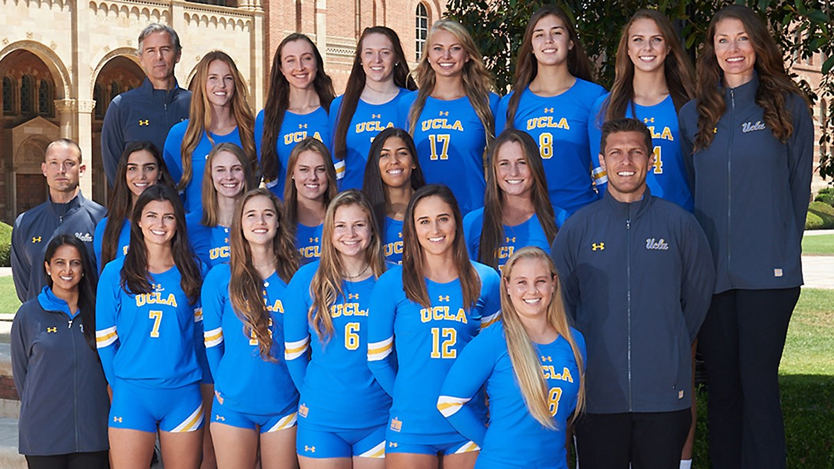 purchase cheap 4d378 2af21 2017 Women's Volleyball Roster - UCLA