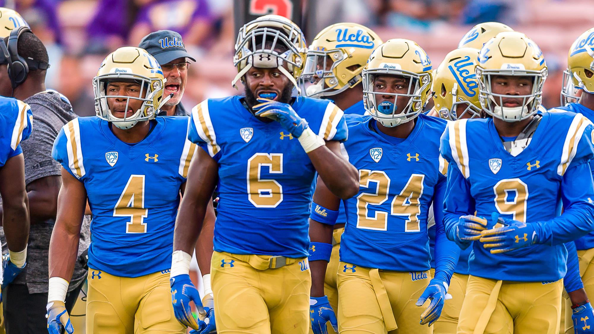 huge discount b6e99 a8aa4 Bruins to Host Cardinal on Senior Day - UCLA