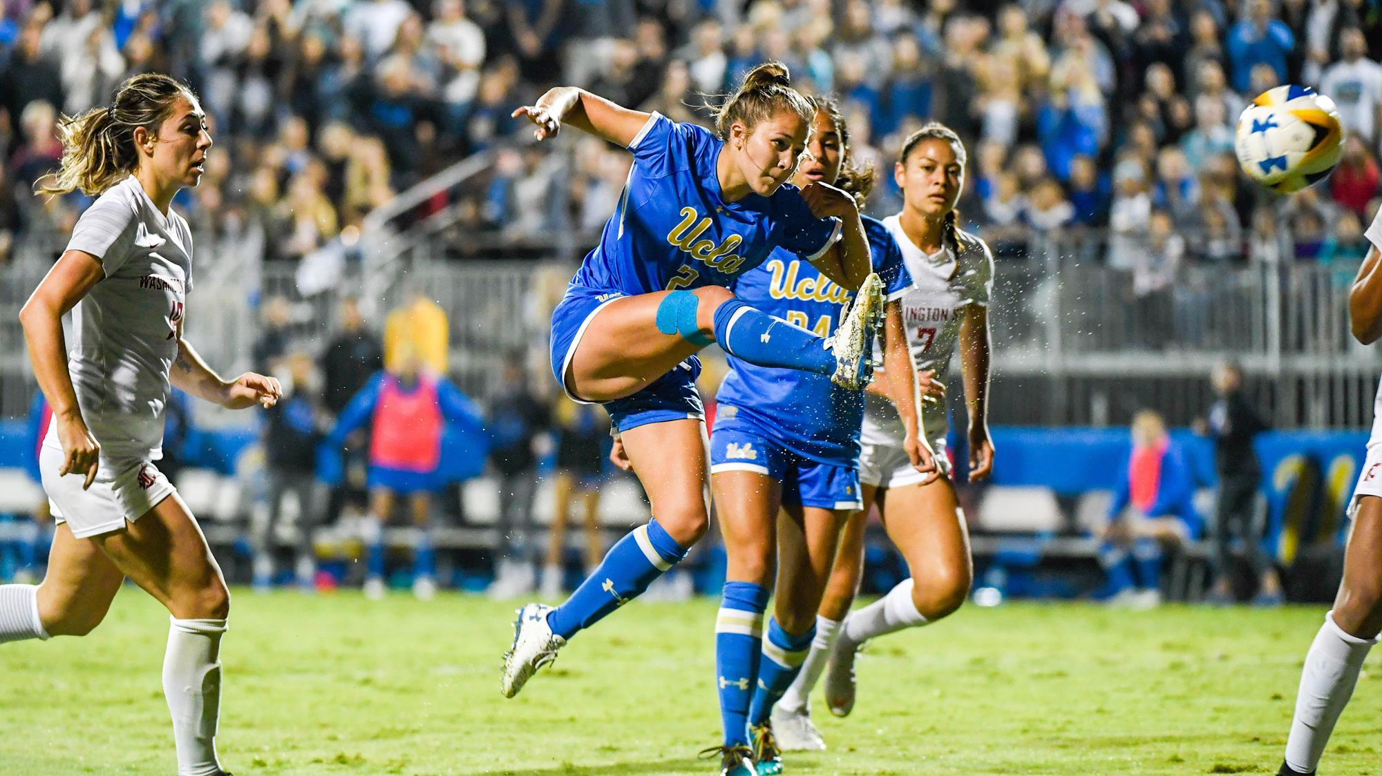 Ashley Sanchez Earns First-Team All-America Honors - UCLA