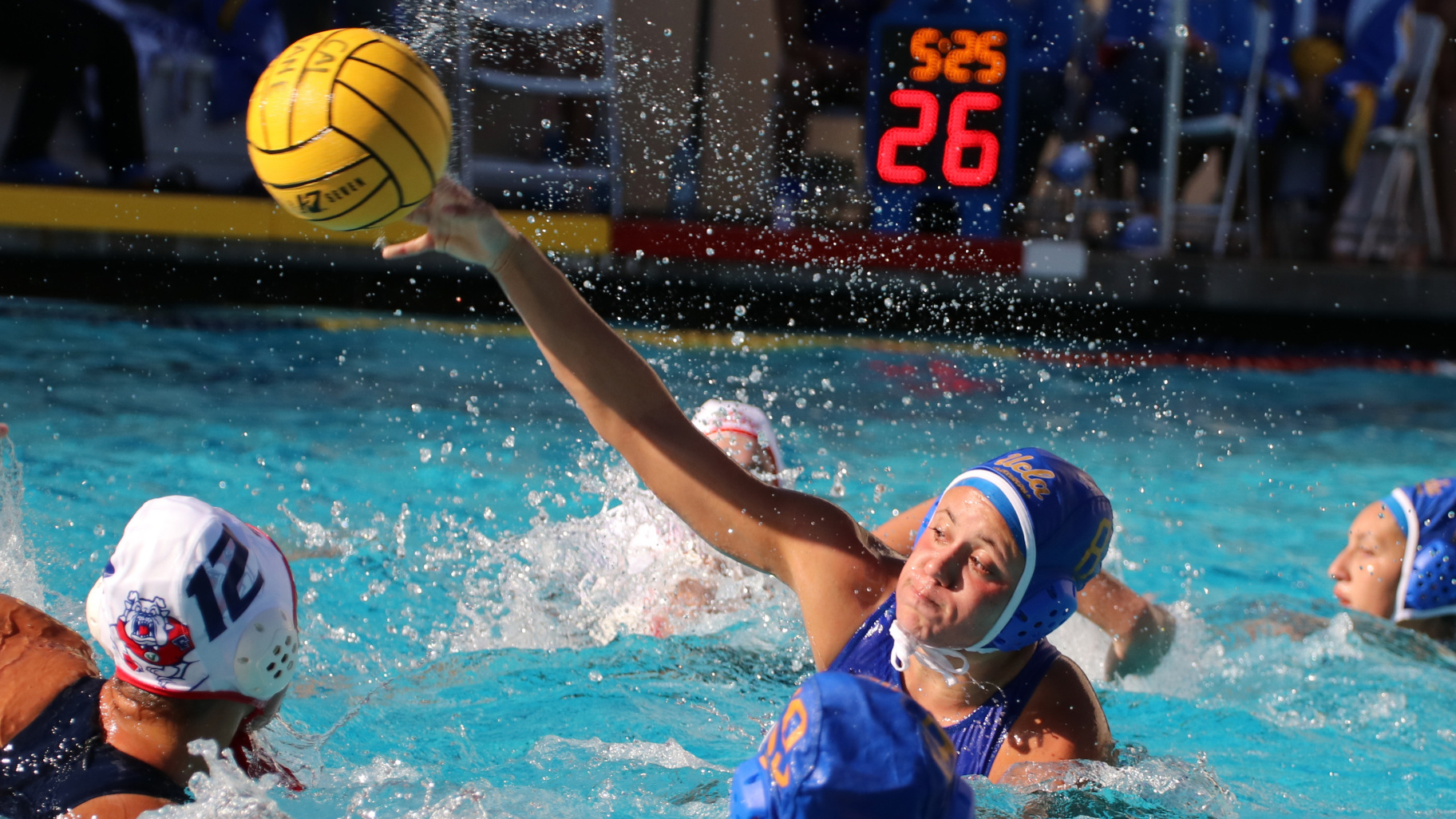 No. 3 UCLA Defeats No. 17 Fresno State bbcd0611da46