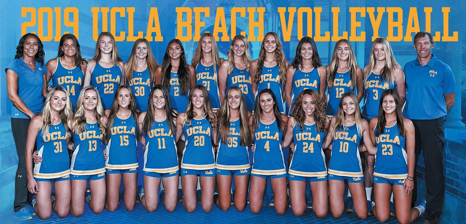 A look at the beach volleyball team