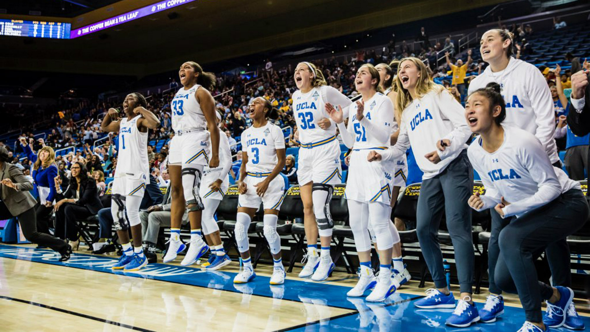 buy popular f7480 d96b5 UCLA Women's Basketball in AP Top 25 for First Time This ...