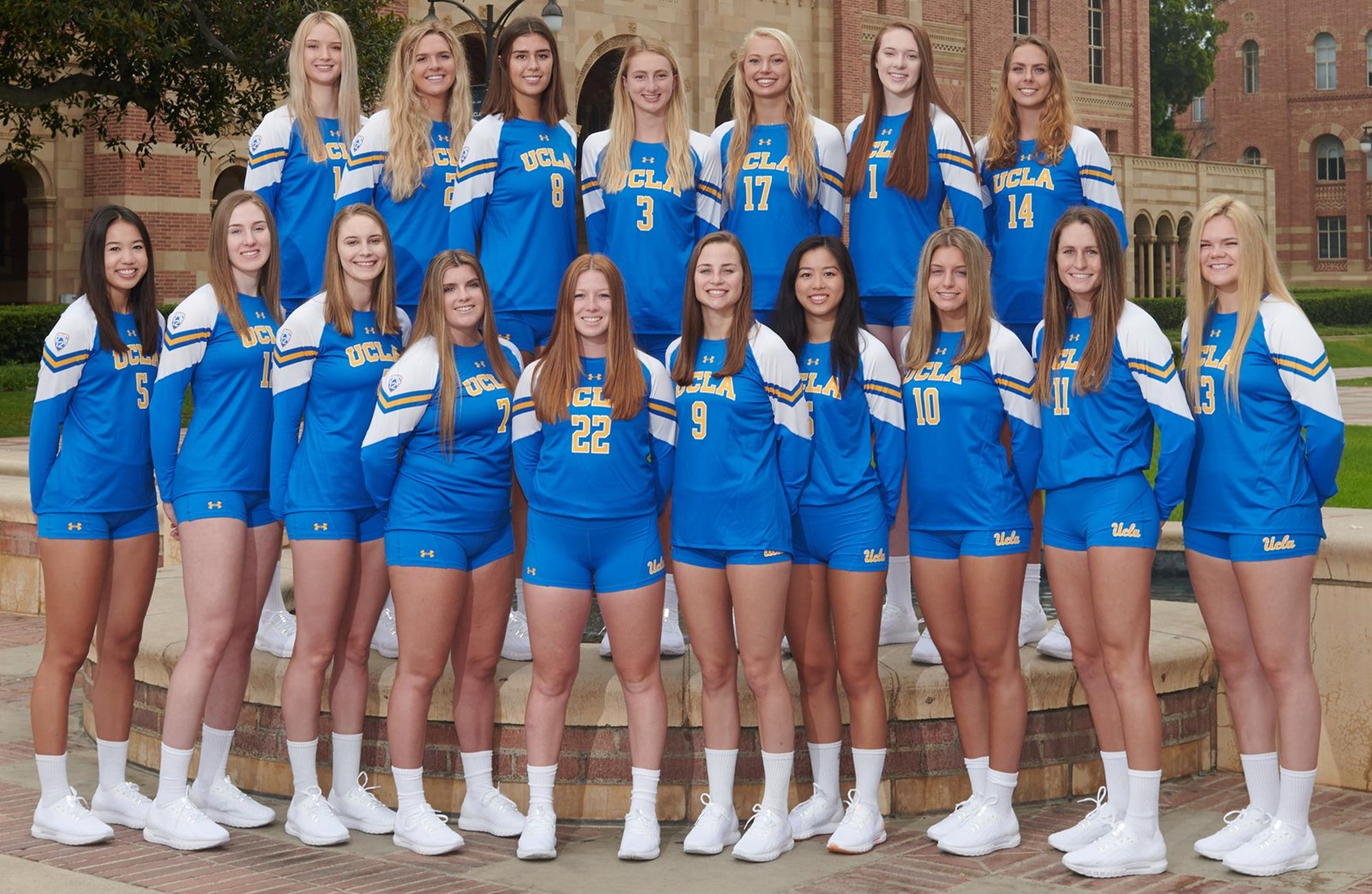 2019 Women S Volleyball Roster Ucla