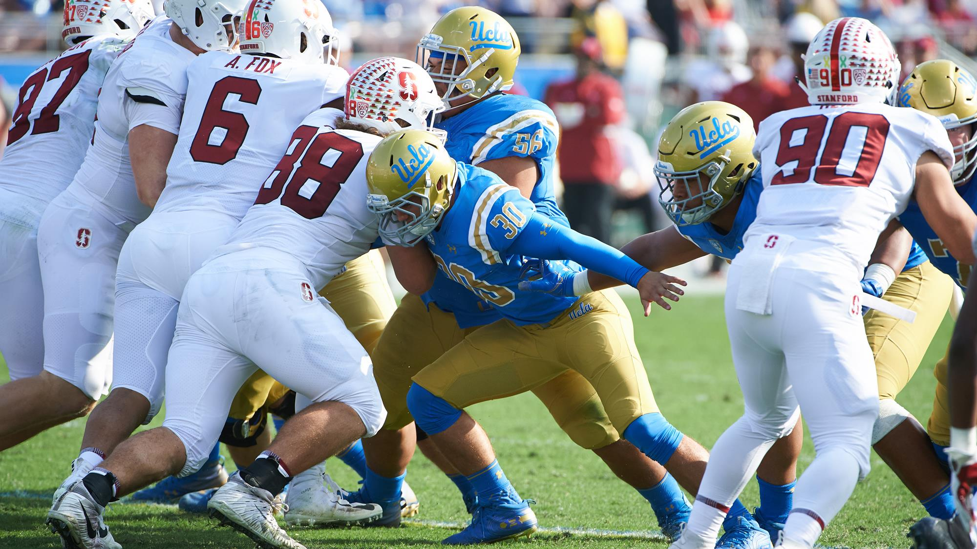Den Bleyker Named To Long Snapper Award Watch List UCLA